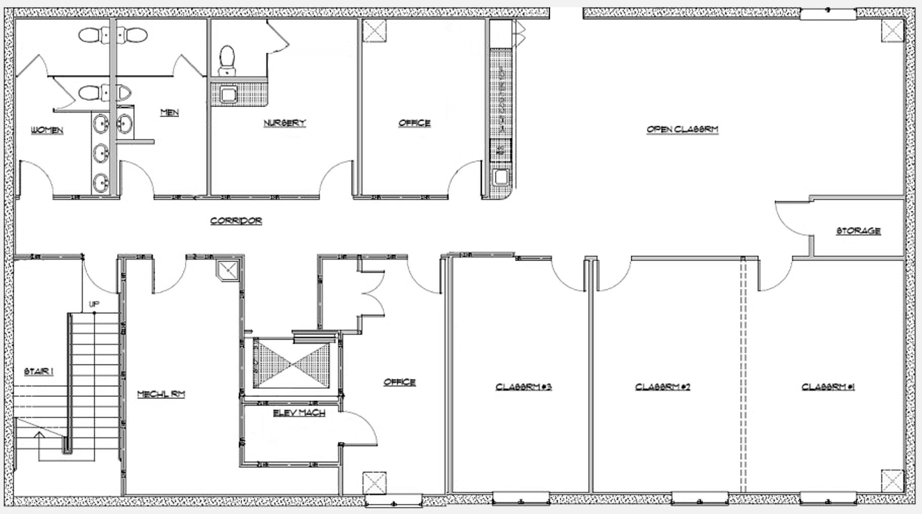 Free home plans small building floor plans for House building blueprints