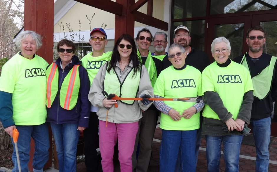 ACUA road cleanup - four times a year